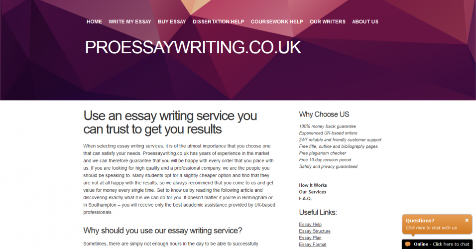 Essay writing service bbc