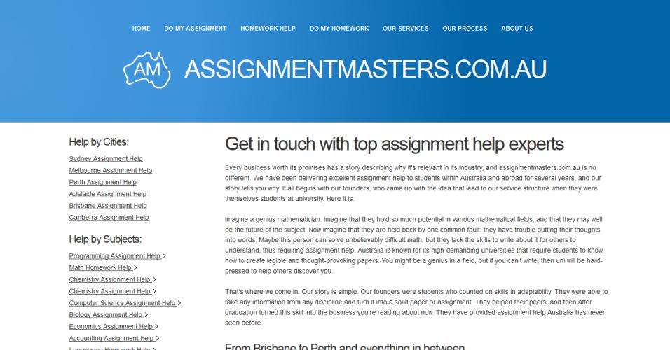 assignmentmasters.com.au
