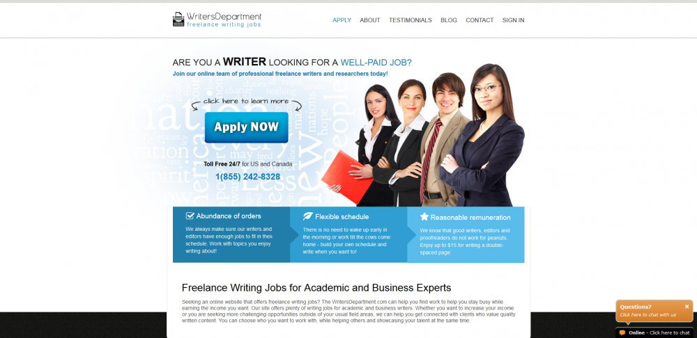 writersdepartment.com