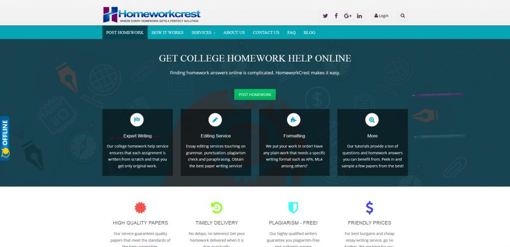 homeworkcrest.com