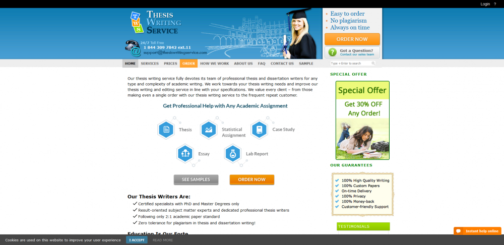 thesiswritingservice.com