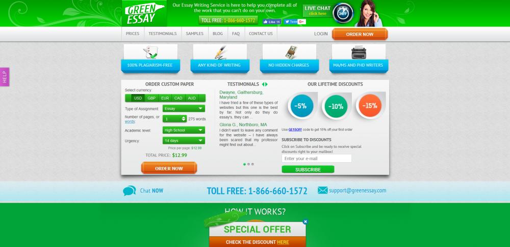 greenessay.com
